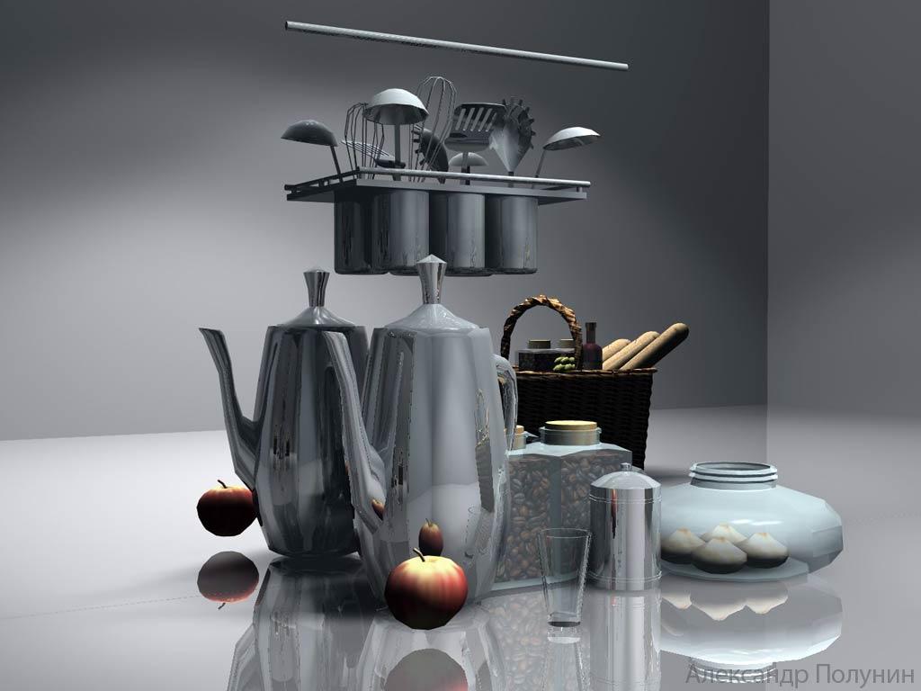 Натюрморт с кухонными предметами и ...: a-pro1.narod.ru/grafica7.htm